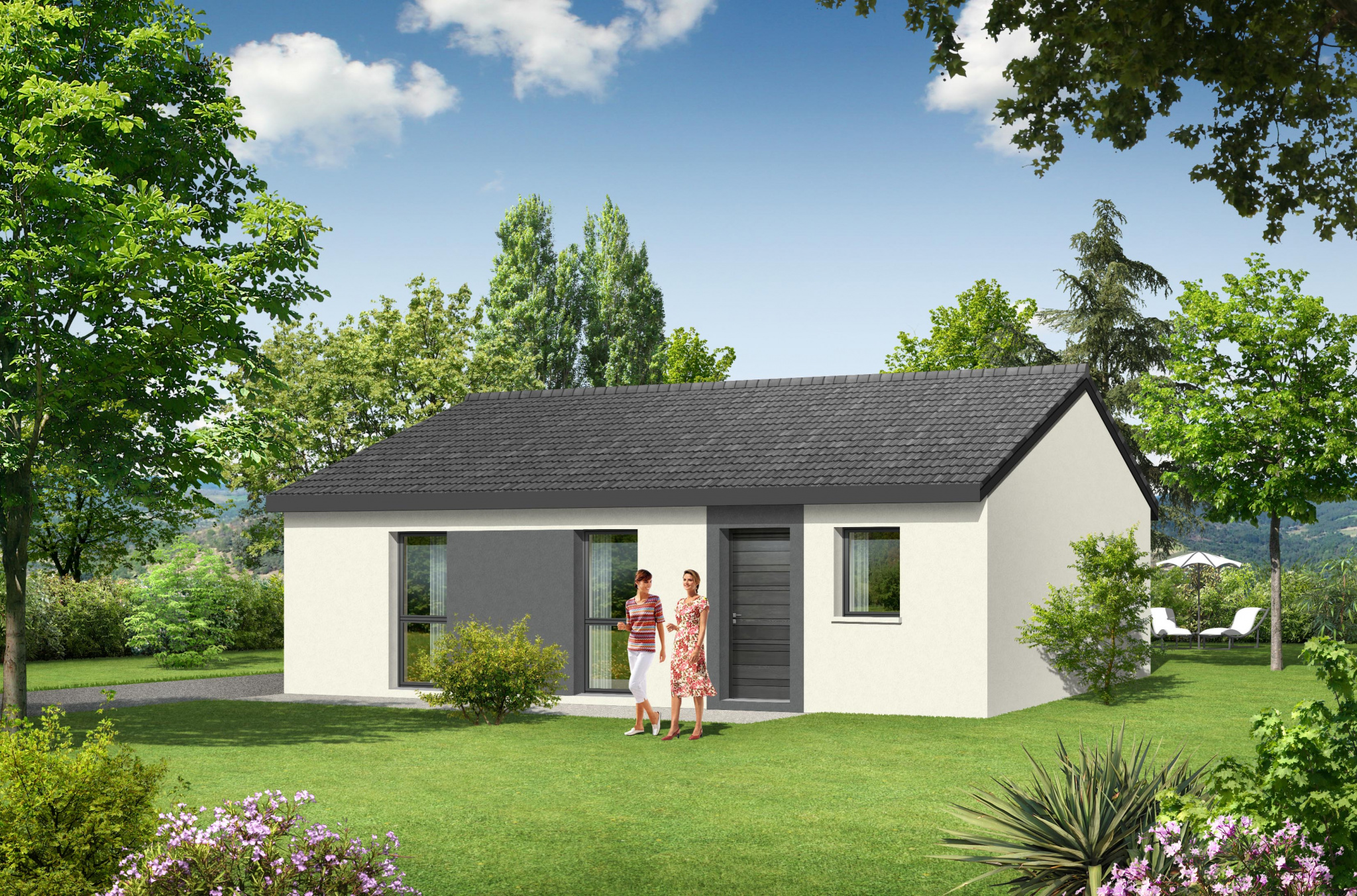 Immobilier auneau location et vente appartement maison for Vente maison neuve 06