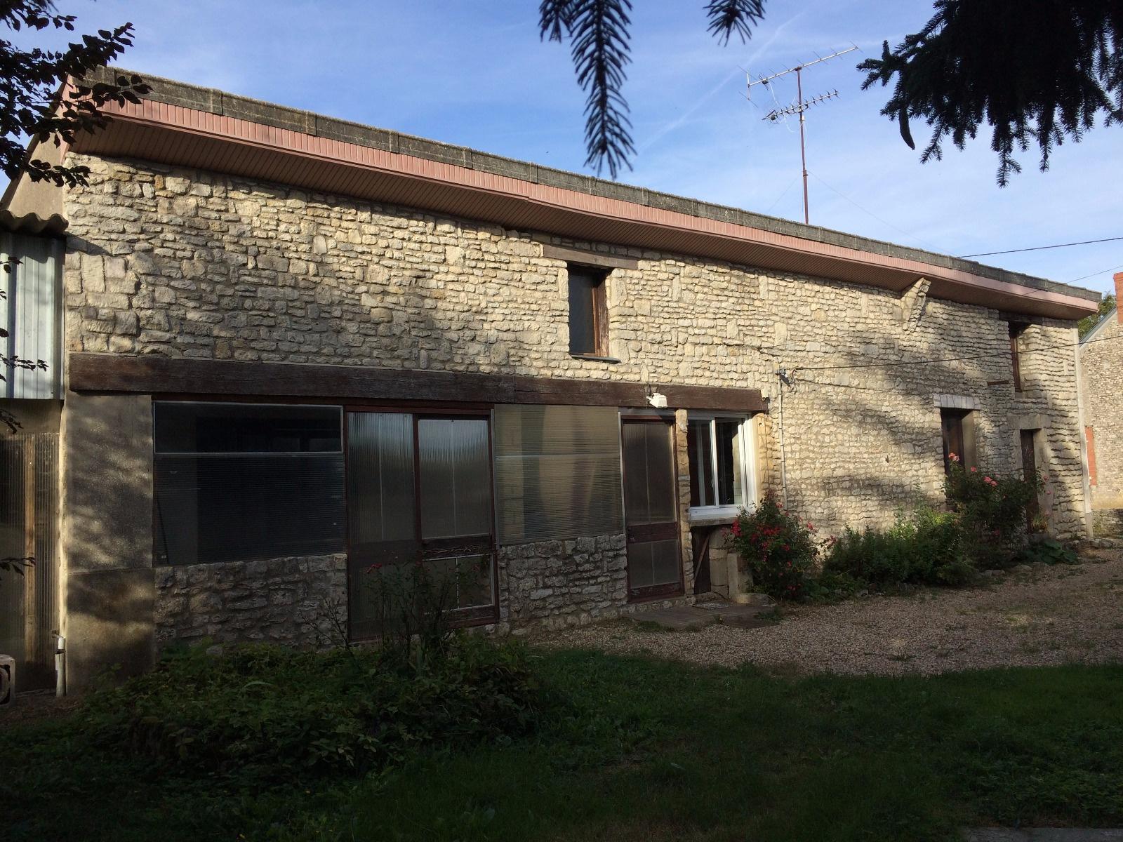 vente NEUVILLE AUX BOIS Centre Grange à rénover 100m² au sol